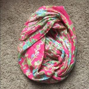 Lilly Pulitzer southern charm infinity scarf